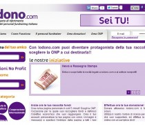 The personal fundraising (Italian)